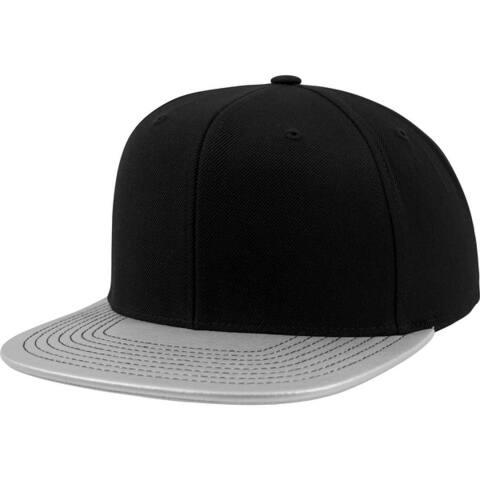 Flexfit Metallic Visor Snapback Cap - One Size