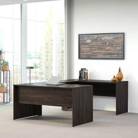 Kensington 60W U Shaped Office Desk by Bush Furniture