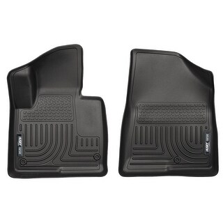 Husky Weatherbeater 2013-2015 Hyundai Santa Fe GLS/Limited Black Front Floor Mats/Liners