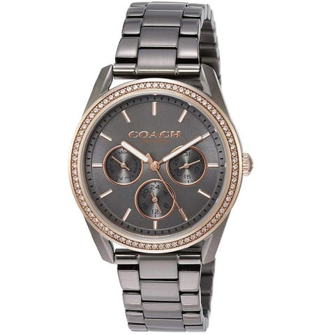 Coach Women's Preston Grey Dial Watch - 14503214 - One Size