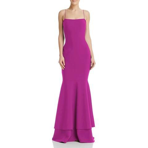Likely Womens Aurora Evening Dress Spaghetti Straps Layered