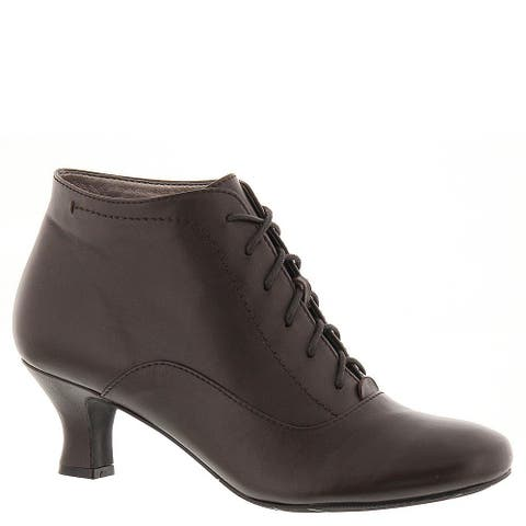 ARRAY Womens Sam Leather Round Toe Ankle Fashion Boots