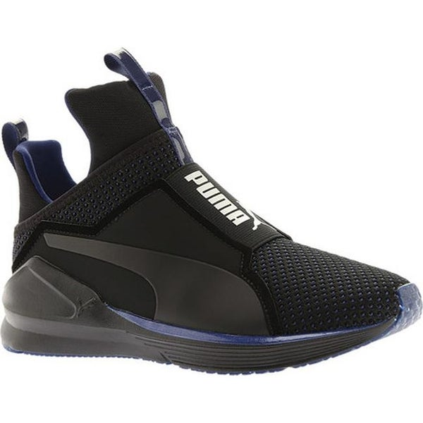 PUMA Women  x27 s Fierce Cross Training Shoe Puma Black Icelandic Blue  Velvet 14973c3ea