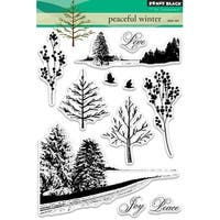 Penny Black Clear Stamps-Peaceful Winter