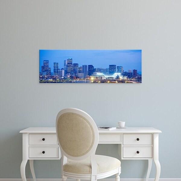 Easy Art Prints Panoramic Images's 'Denver Colorado USA' Premium Canvas Art