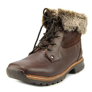 Blondo Neige Women Round Toe Leather Winter Boot