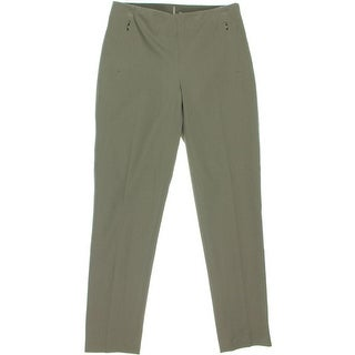Elie Tahari Womens Blair Stretch Flat Front Ankle Pants - 6