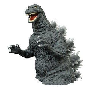"Godzilla Classic 1989 10"" Vinyl Bust Bank - multi"