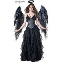 Hoty Dark Angel Costume, Black Angel Costume