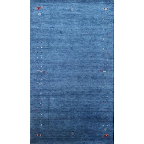 "Tribal Gabbeh Lori Oriental Home Decor Area Rug Wool Hand-knotted - 6'3"" x 9'4"""