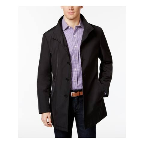CALVIN KLEIN Mens Black Jacket 44R