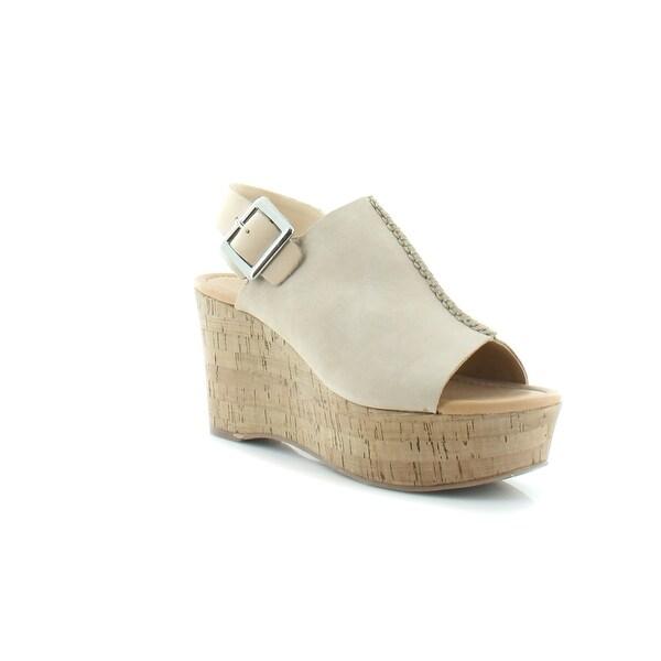 Marc Fisher Sinthya Women's Sandals & Flip Flops Light Natural