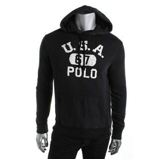 Polo Ralph Lauren Mens Graphic Long Sleeves Hoodie