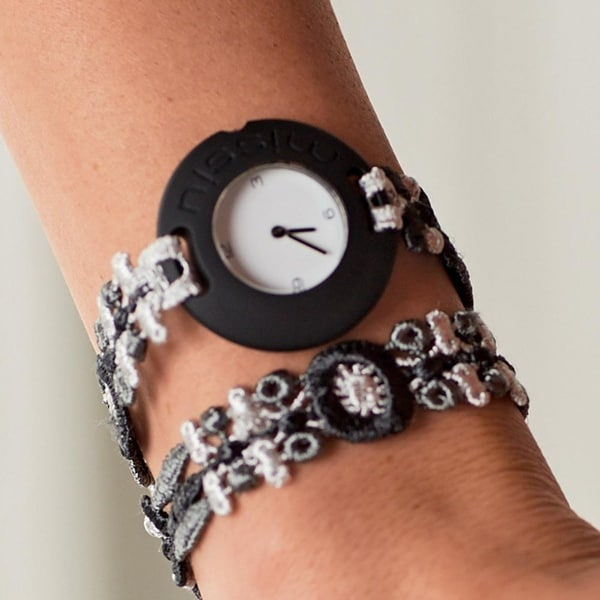 Women's Lacy Bracelet Watch - Multi