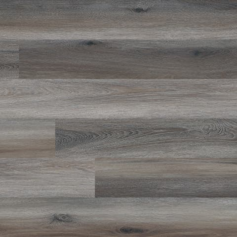 "MSI VTG6X48-2MM-12MIL-MAP Glenridge 6"" Wide Waterproof Smooth Maple-Imitating Luxury Vinyl Planks - - Midnight Maple"