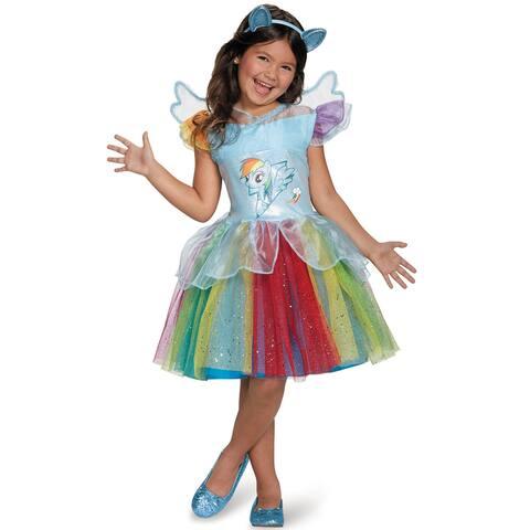 Disguise Rainbow Dash Tutu Deluxe Child Costume - Multi