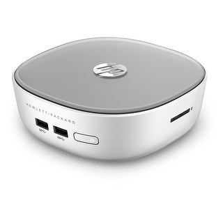 HP Pavilion Mini Desktop 300-221 Intel Pentium 3805U 1.9GHz 4GB 1TB Win10