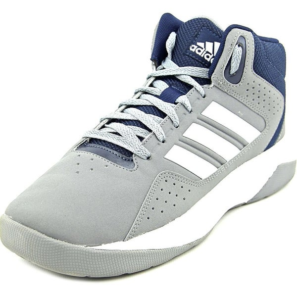 Adidas Cloudfoam Thunder Mid Men Round Toe Synthetic Gray Sneakers