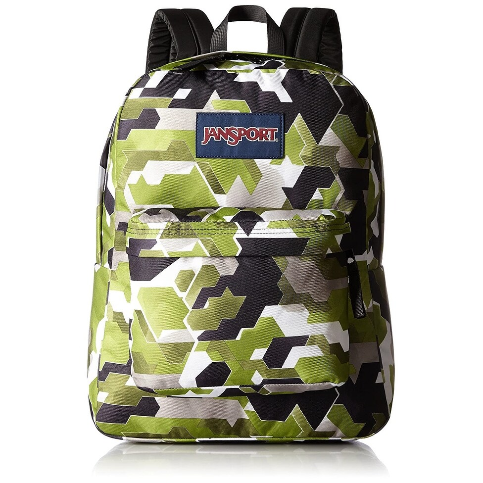 JanSport Superbreak Backpack - Multi Watercolor Angels - Multi Watercolor Angels - One size (Multi Watercolor Angels)
