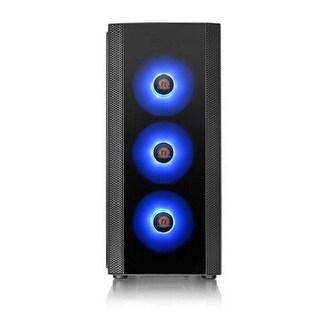 Thermaltake Versa J25 Tempered Glass RGB Edition No Power Supply AT