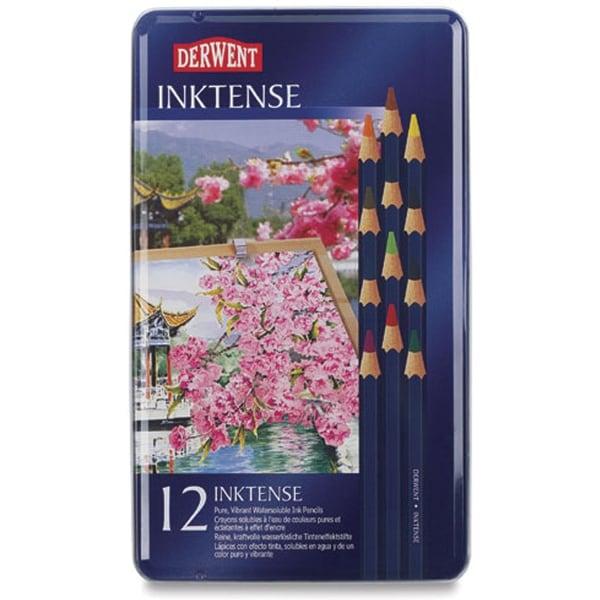 Derwent Inktense Pencils 12/Pkg-