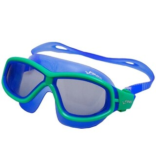 Finis Youth Explorer Secure Fit Goggles - Green/Smoke