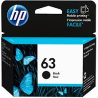 Hewlett Packard  Genuine OEM HP63 Black Original Ink Toner Cartridge