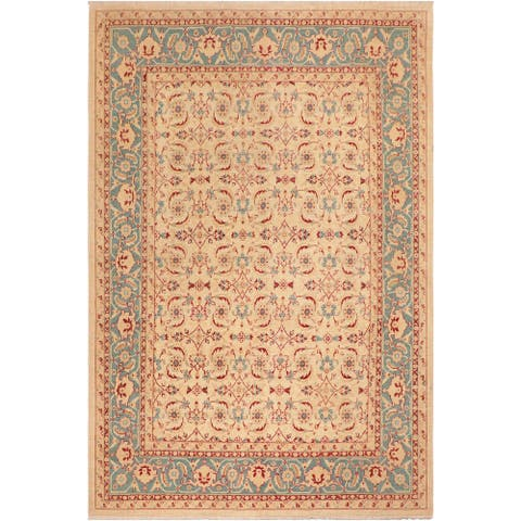 """Boho Chic Ziegler Laurena Hand Knotted Area Rug -8'1"""" x 9'8"""" - 8 ft. 1 in. X 9 ft. 8 in."""