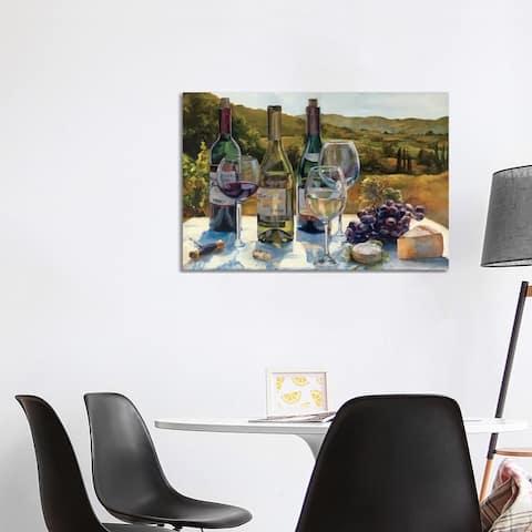 "iCanvas ""A Wine Tasting"" by Marilyn Hageman Canvas Print"
