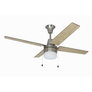 """Craftmade UBW48 Wakefield 48"""" 4 Blade Hanging Indoor Ceiling Fan with Reversible Motor, Blades and Light Kit"""
