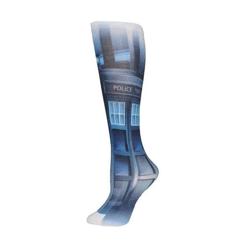 Doctor Who Tardis Crew Socks