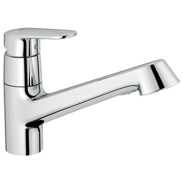 Shop Grohe 32 946 Europlus Pull Out Kitchen Faucet With 2 Function