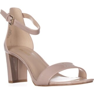 Nine West Pruce Ankle Strap Sandals, Natural