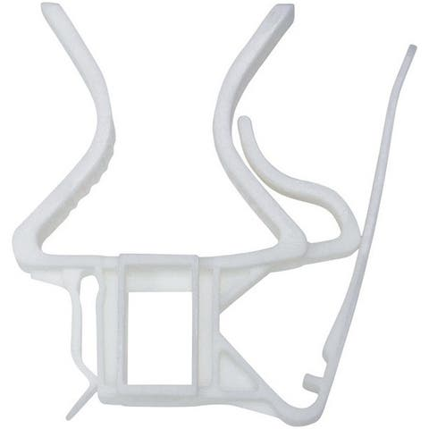 Dyno 74029-25C Christmas Quick Release Clips, Clear, Plastic, 25/Pack
