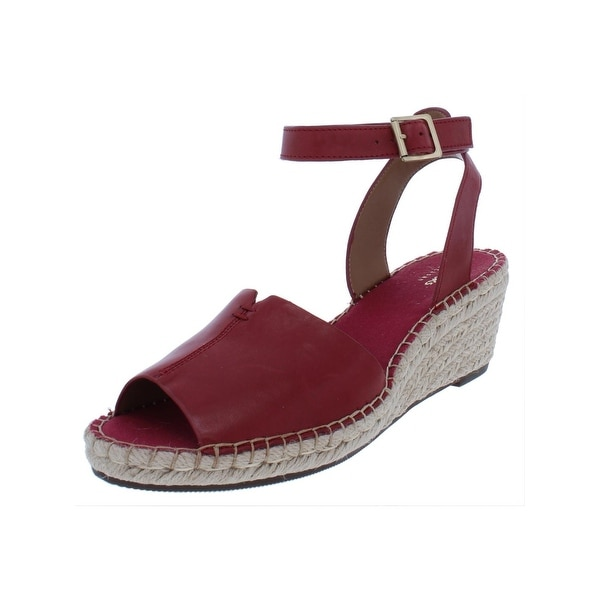 9c00f313051 Clarks Womens Petrina Selma Wedge Sandals Leather Espadrilles. Click to Zoom