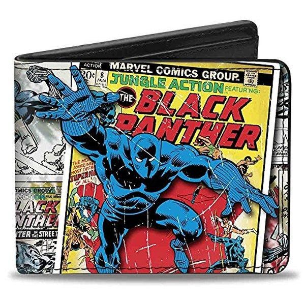 Buckle-Down Bifold Wallet Black Panther