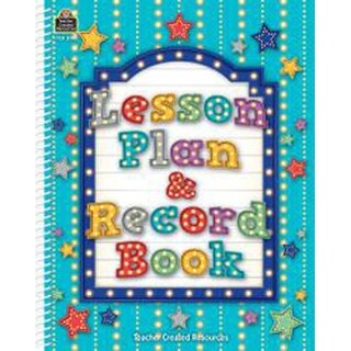 Aqua Marquee - Teacher Created Resources Spiral Lesson Plan & Record Book