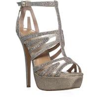 TS35 Flairr Platform Dress Sandals, Champagne - 7 us
