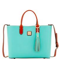 Dooney & Bourke Pebble E W Waverly Tote & Sammi Tassel (Introduced by Dooney & Bourke at $268 in Sep 2017)