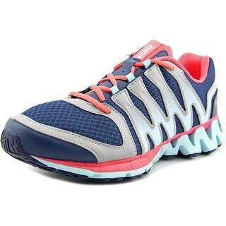 Reebok Zigkick Tahoe Road II Women W Round Toe Synthetic Blue Running Shoe