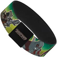 Guardians Of The Galaxy Evergreen Guardians Of The Galaxy 5 Character Group Elastic Bracelet