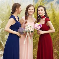 Ever-Pretty Women's Chiffon Ruched Bust Evening Party Bridesmaid Dress 08834