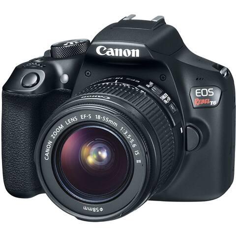 Canon EOS Rebel T6 DSLR Camera with 18-55mm Lens (Intl Model)