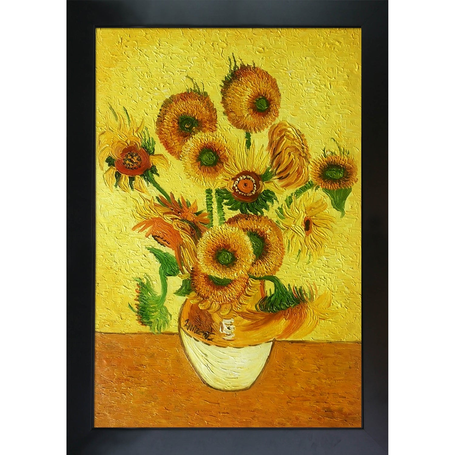 Wall Art Repro Made in U.S.A Giclee Prints Vase with Sunflowers by van Gogh