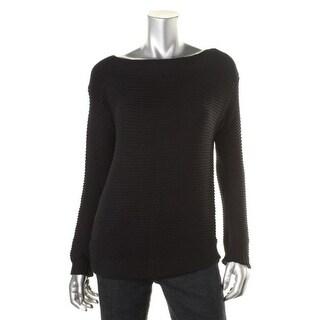 Lauren Ralph Lauren Womens Pullover Sweater Cotton Long Sleeves - m