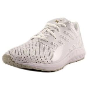 Puma Flare Women Round Toe Synthetic White Running Shoe