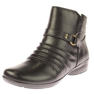 Natural Soul Womens Coltrane Ankle Boots Buckle