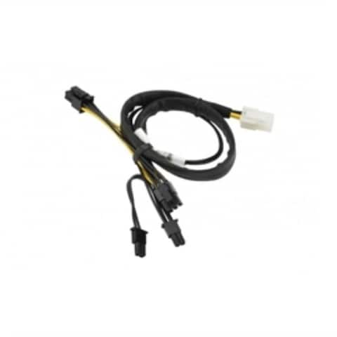 Supermicro Cable CBL-0424L 40cm 8+6-Pin GPU Power Extension from PDB 8-Pin Retail