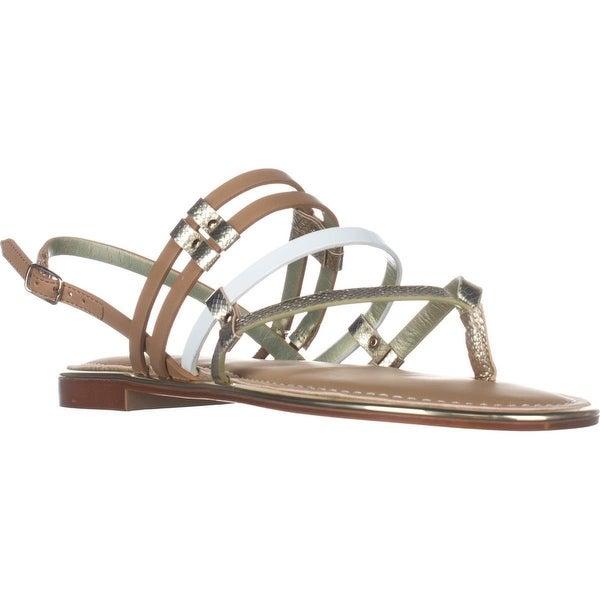 Carlos Carlos Santana Diego Flats Sandals, Brulee