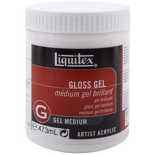 Liquitex Gloss Acrylic Gel Medium